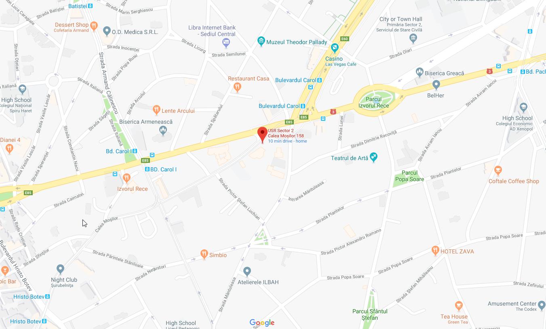 USR Sector 2, Calea Moșilor 158, București