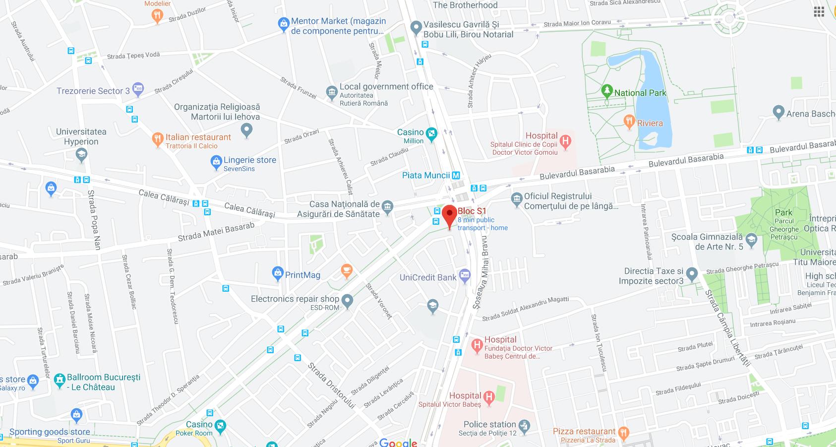USR Sector 2, Bulevardul Decebal, 28, București